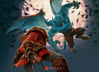 Lycan vs NightStalker by crow-god