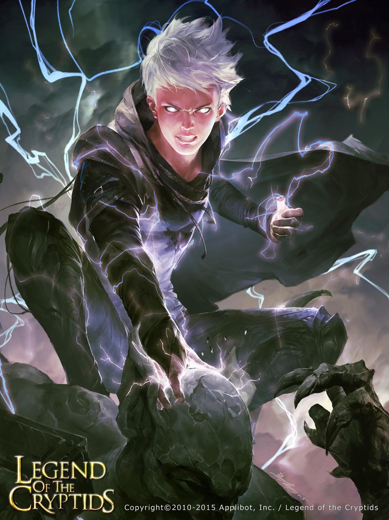 Purple lightning02 by crow-god