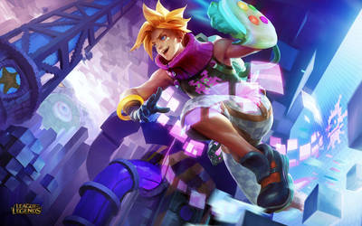 Arcade Ezreal by crow-god