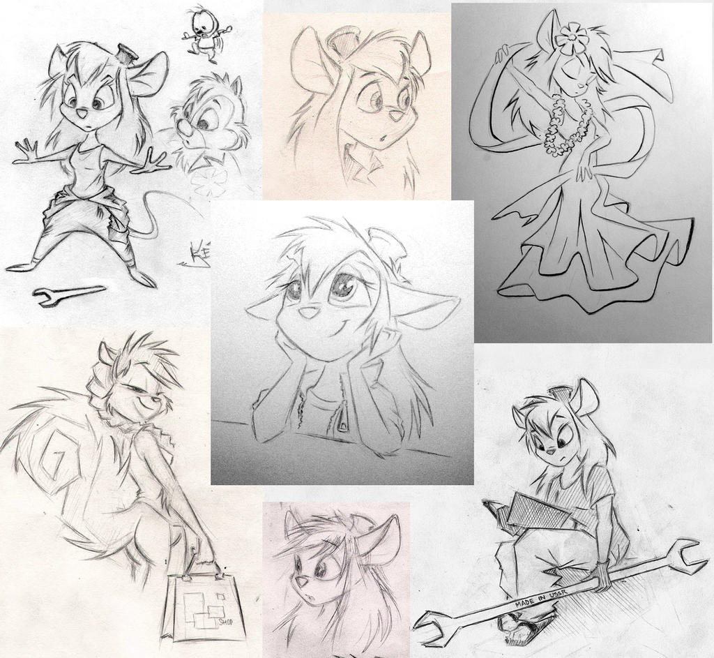 CDRR sketches by Kejzfox