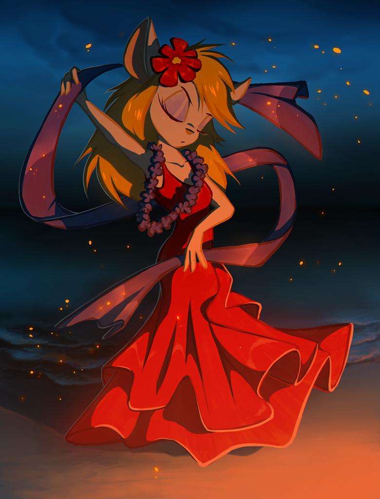 Fire dance by Kejzfox