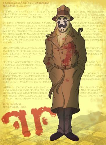 Watchmen Rorschach by jusscope