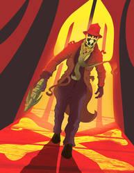 Rorschach Alternate Version by jusscope