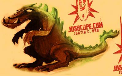 Beware Atomigator I by jusscope