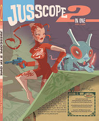 Jusscope 2 in One Cover by jusscope