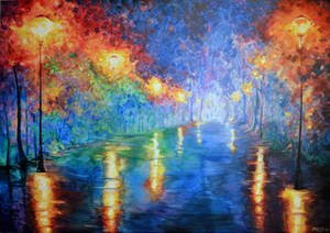 In Style of Afremov