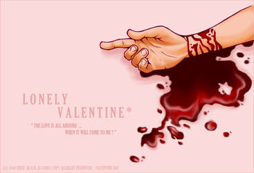 - LONELY VALENTINE - by i-bier
