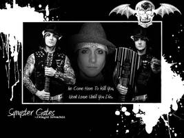 Synyster Gates Wallpaper by SaintDanky