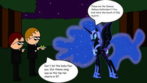 MIB Vs Nightmare Moon