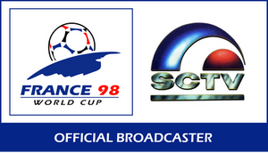 SCTV Official Broadcaster 1998 FIFA World Cup