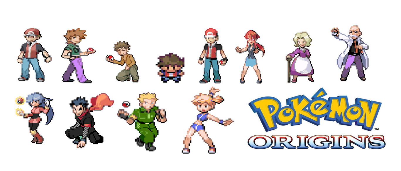 pokemon origin edited sprites by mohammadataya on deviantart