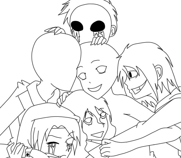 Creepypasta Family Outline By Drago236 On Deviantart
