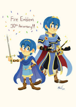 Happy 30th Anniversary, Fire Emblem!