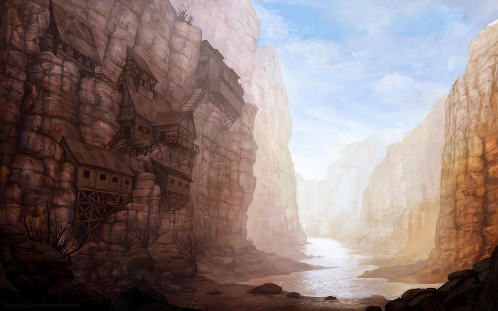 Environment: Canyon Village by leonardoschmidt