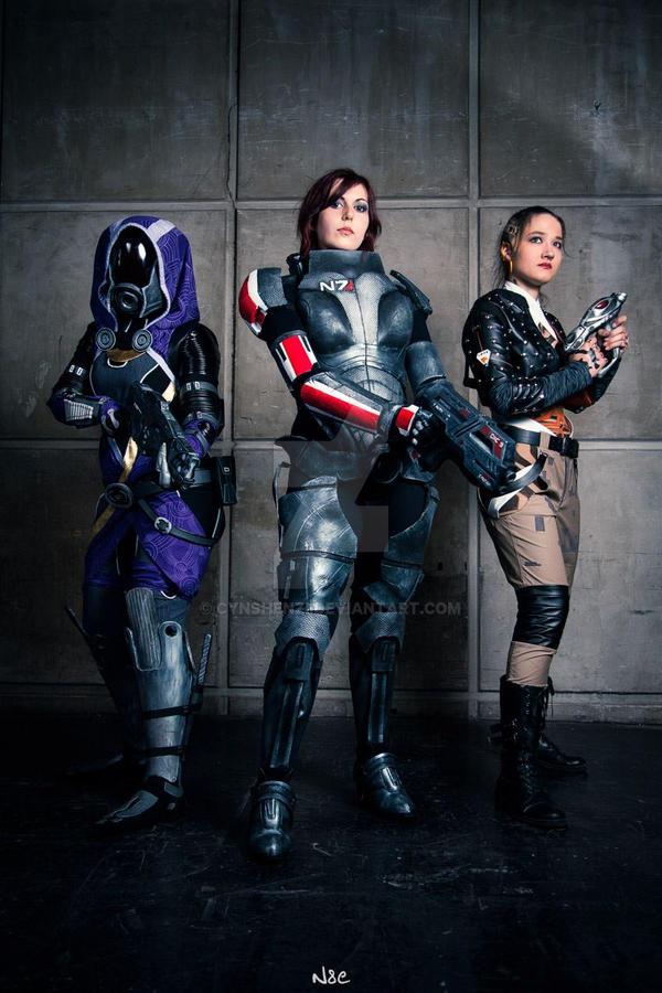 Jane Shepard _ Mass Effect by CynShenzi