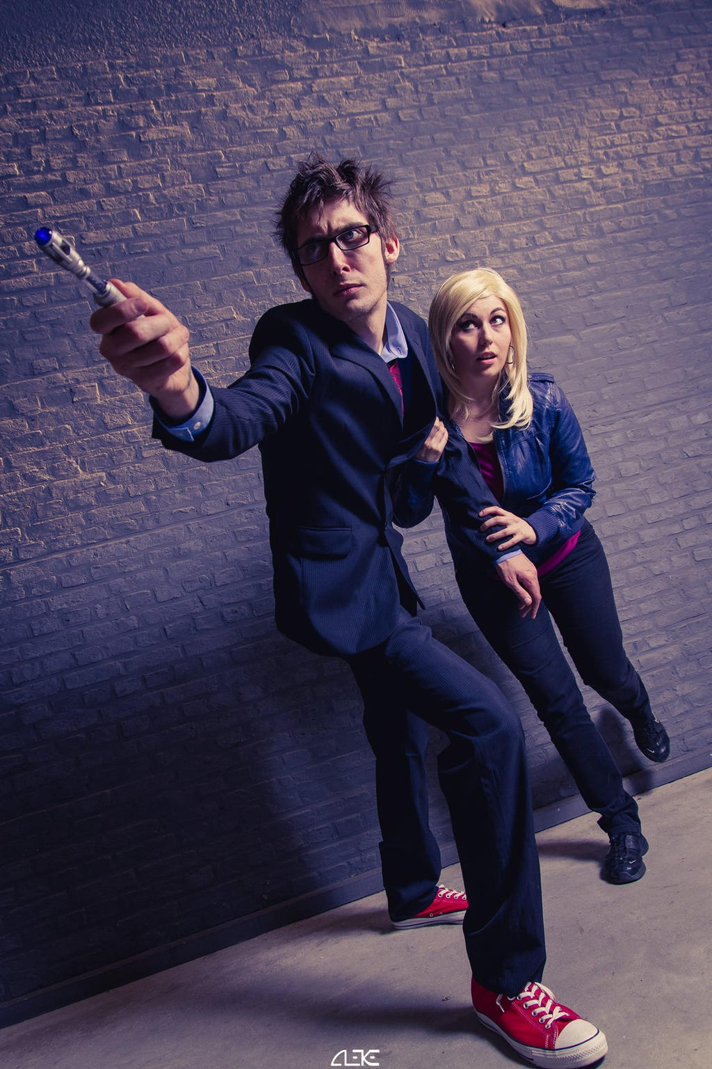 Doctor Who 10th and Rose Tyler by CynShenzi