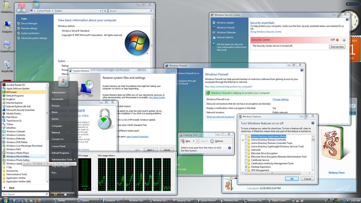 Server 2008 As A Workstation Updates By 2008WindowsVista