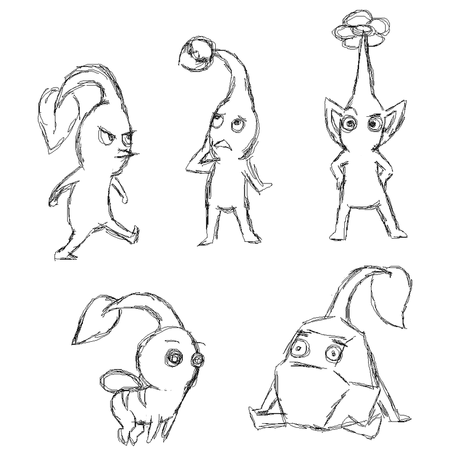 pikmin bulborb coloring pages - photo#16