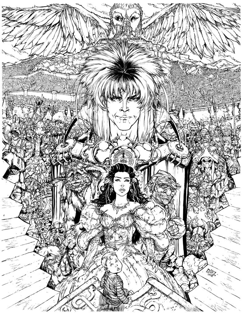 Labyrinth by Danielleister on DeviantArt Labyrinth Movie Tattoo
