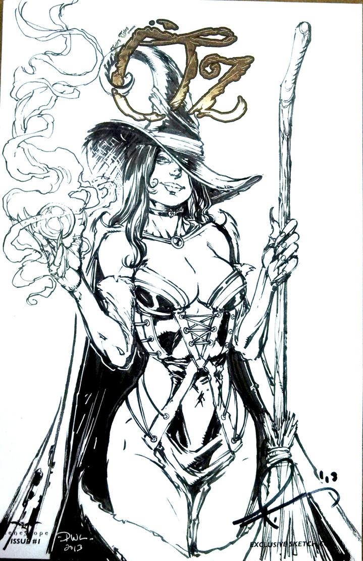 OZ Wicked Witch by Danielleister