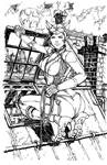Catwoman BW