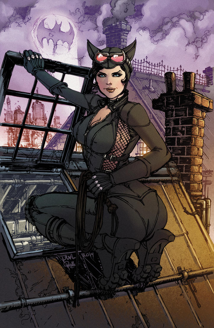 Catwoman Final Col by Danielleister