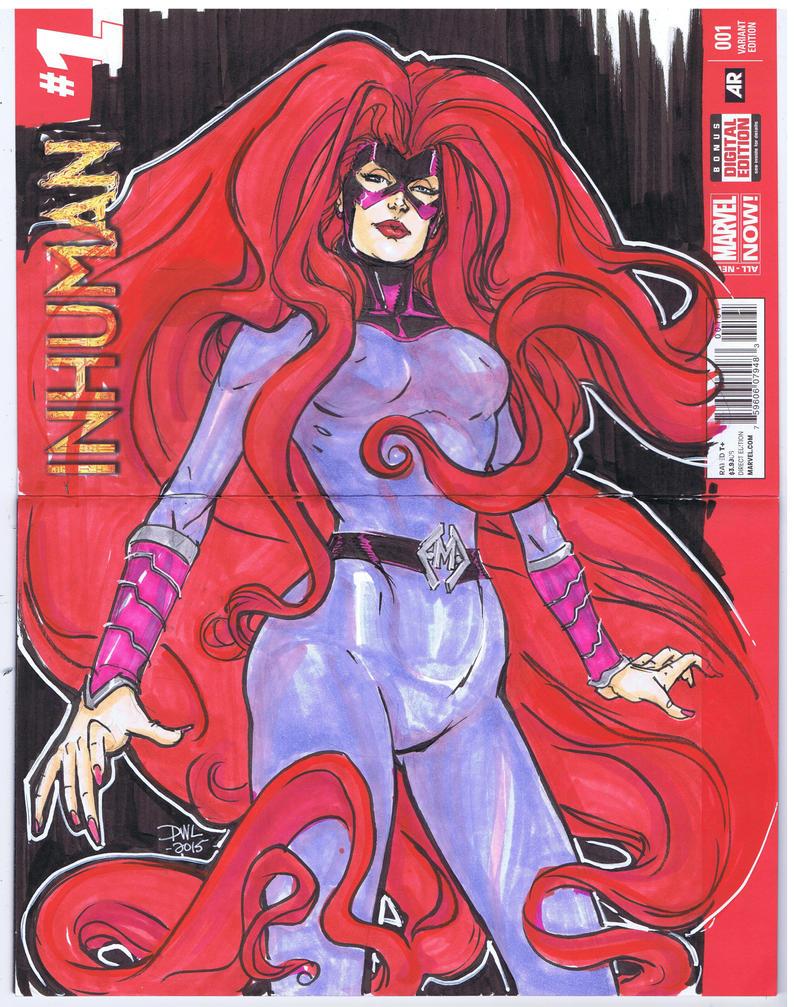 Medusa Sketch cover by Danielleister
