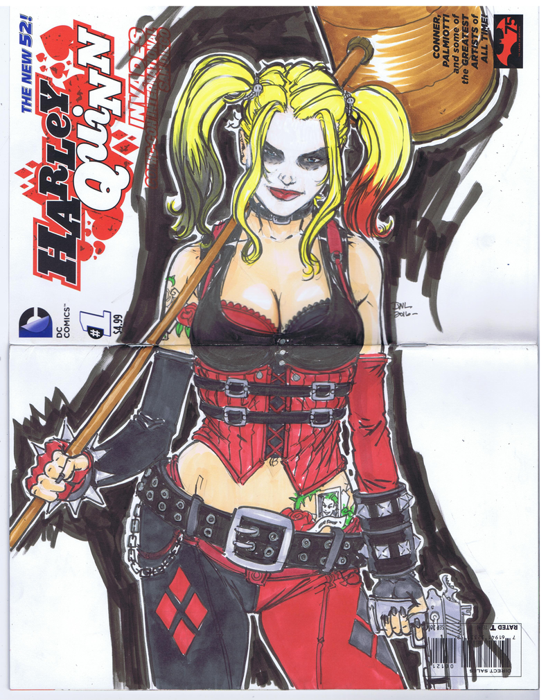 Harley Sketch Cover by Danielleister
