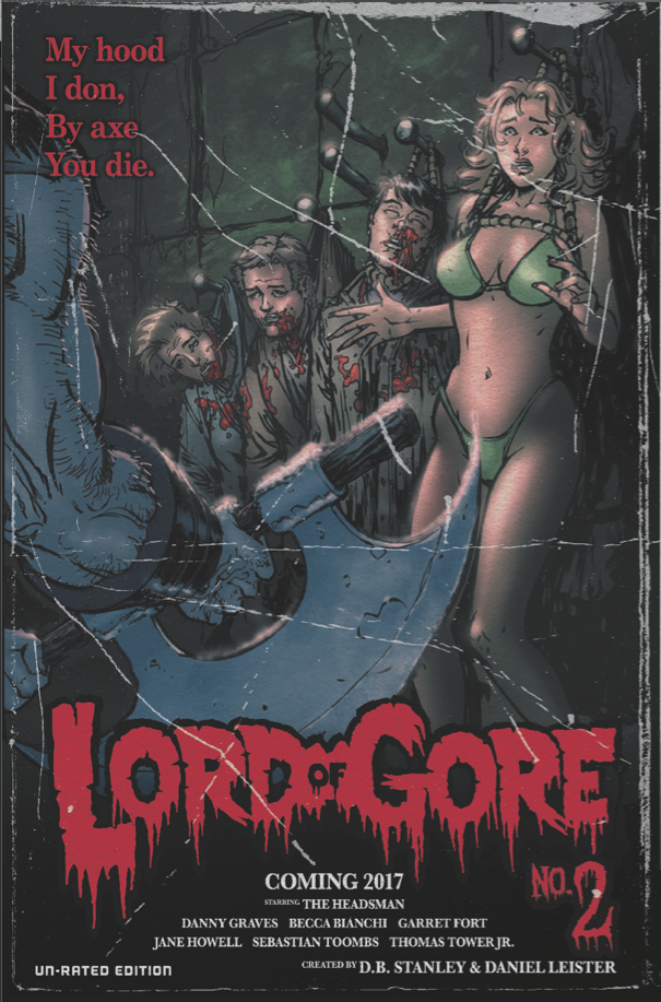 Lord of Gore issue 2 cover by Danielleister