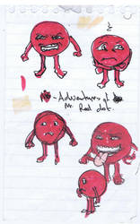 1st Red sketches