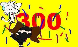 300 hits