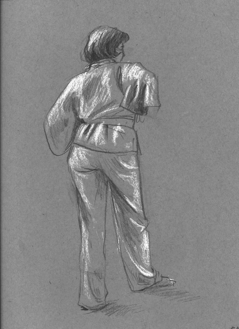 Figure Drawing #3 by SlartzOG