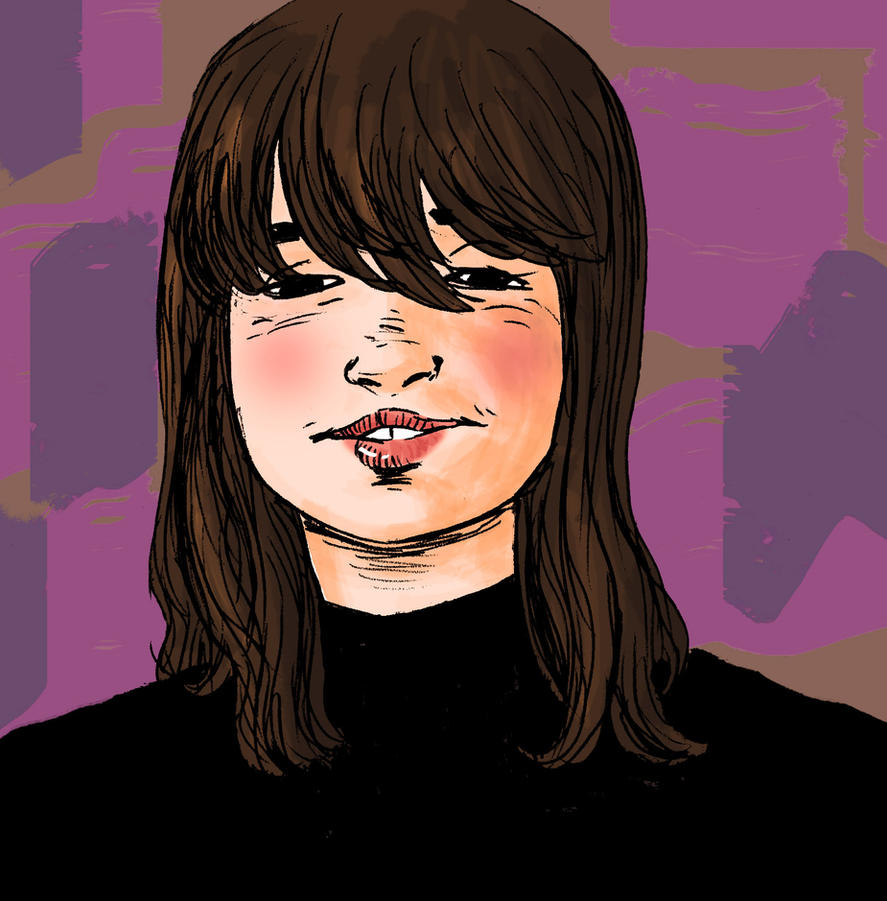 Auke digitally colored sketch by SlartzOG