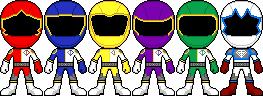 Ishi Sentai D-ranger by captainsentai