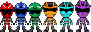 S.W.A.T. Sentai Soldiernger by captainsentai