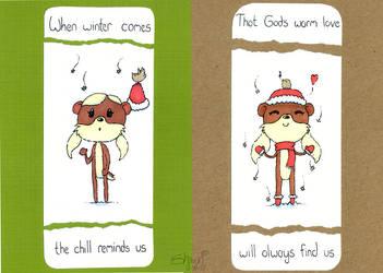 Christmas Card 2015 by masonmouse
