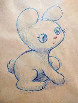 Crayola bunny