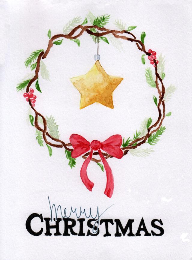 Christmas card 2017 by masonmouse