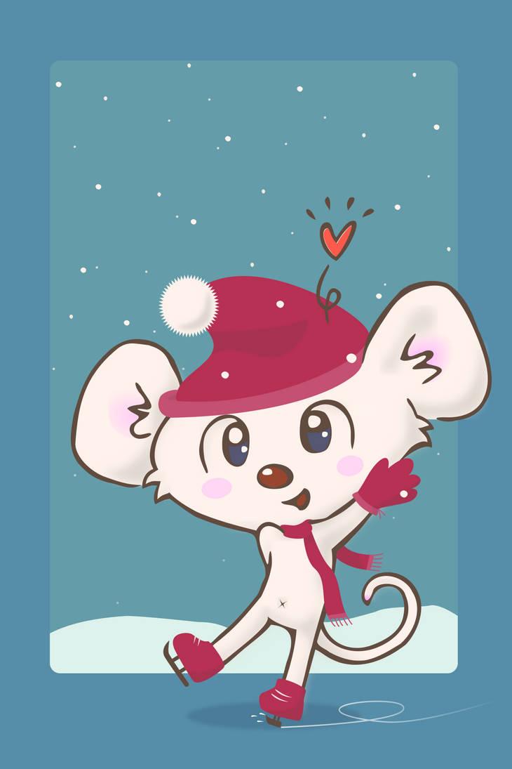 Christmas card 2018 by masonmouse