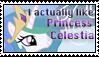 Princess Celestia stamp by Katridog