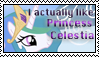 Princess Celestia stamp by Katridog