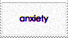 anxiety stamp by Katridog