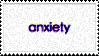 anxiety stamp by Katridog
