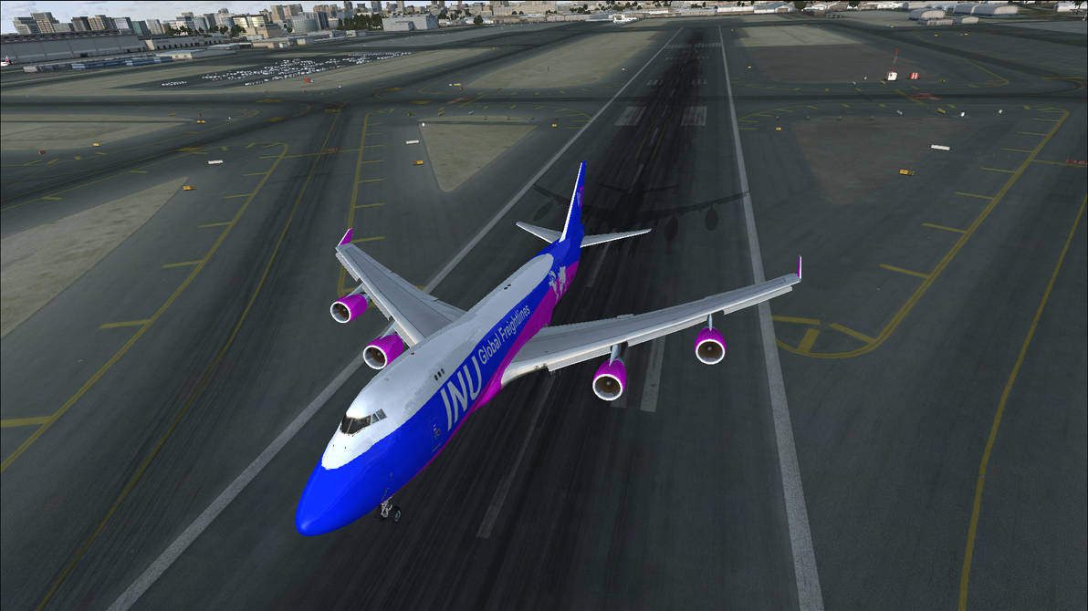 IGF 747-400F Departing Dubai Airport - FSX by HYPPthe on DeviantArt