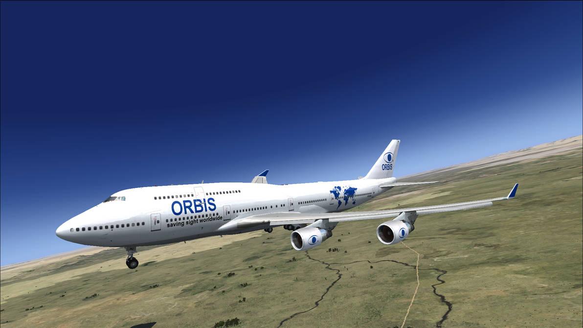 The Orbis Boeing 747-400 Flying Eye Hospital - FSX by HYPPthe on