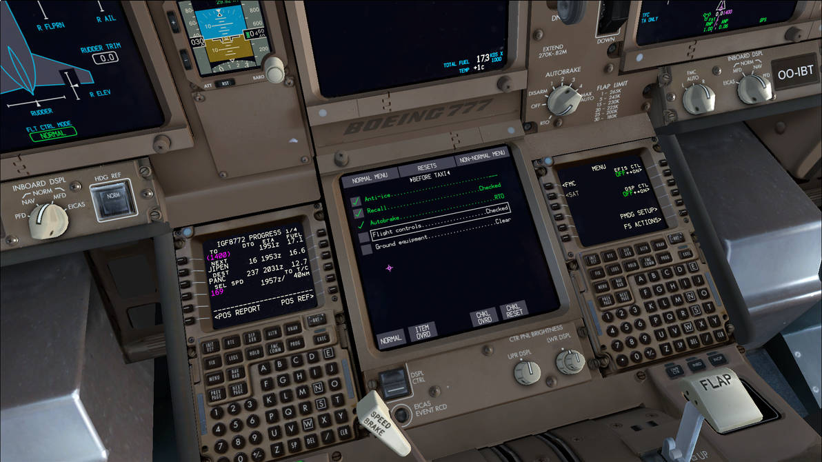 PMDG Boeing 777 Electronic Checklist - FSX by HYPPthe on DeviantArt