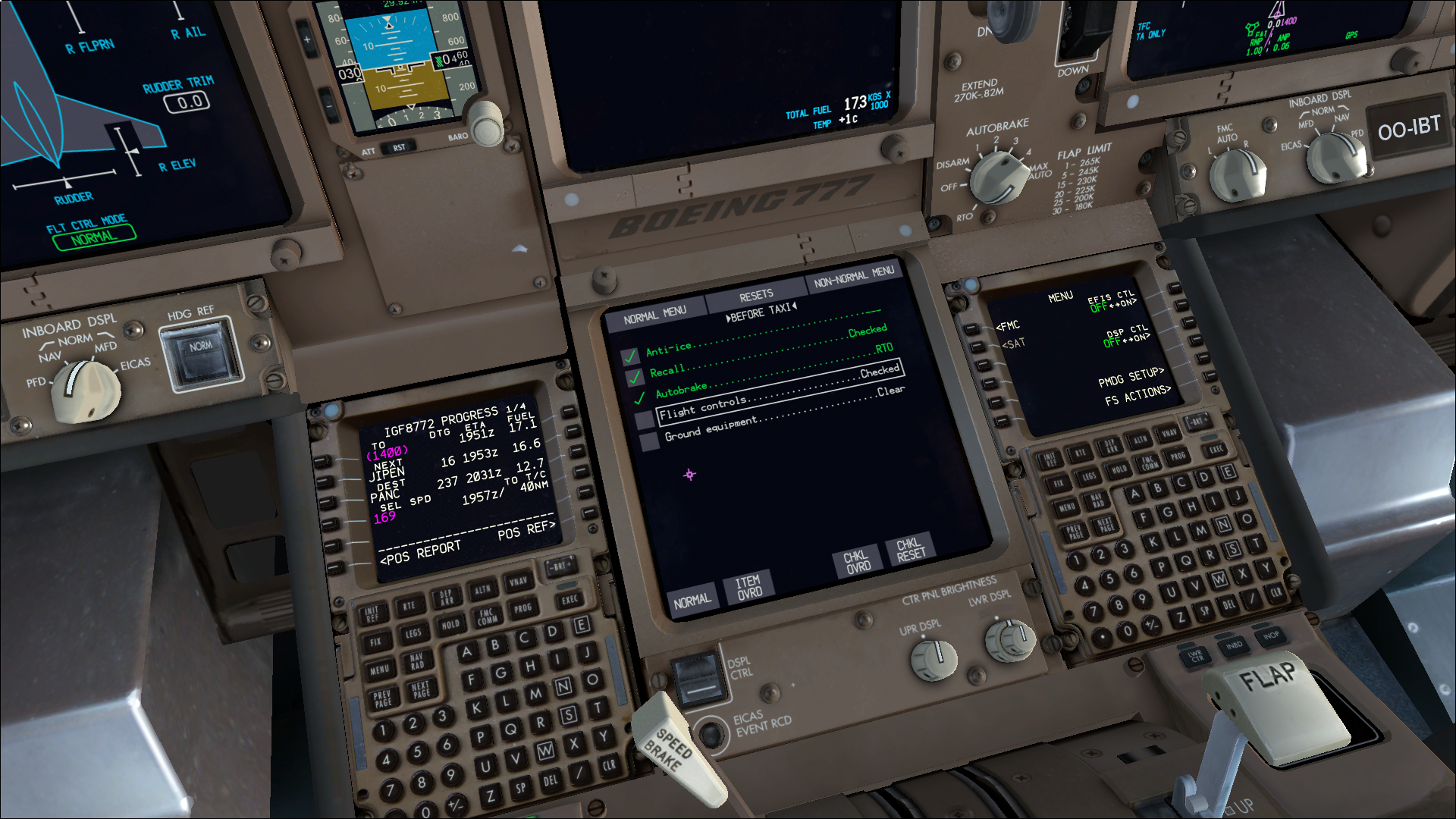 PMDG Boeing 777 Electronic Checklist - FSX by HYPPthe on
