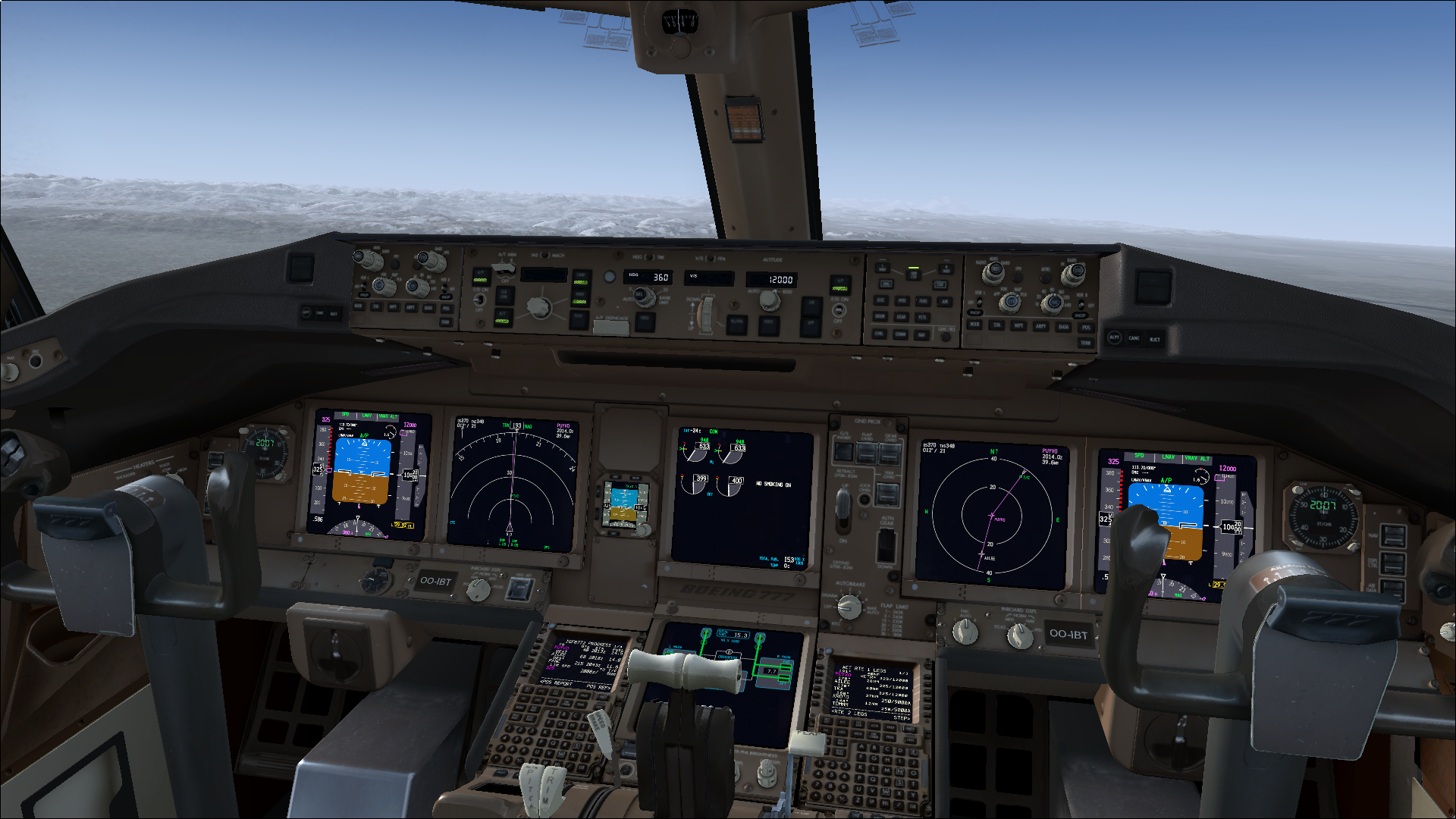 The PMDG 777LRX Flight Deck - FSX by HYPPthe on DeviantArt
