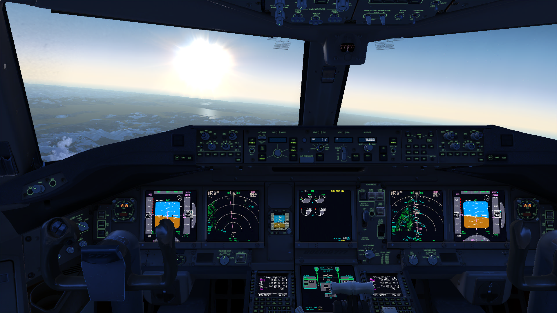 Flight Simulator X Wallpaper: FSX By HYPPthe On DeviantArt