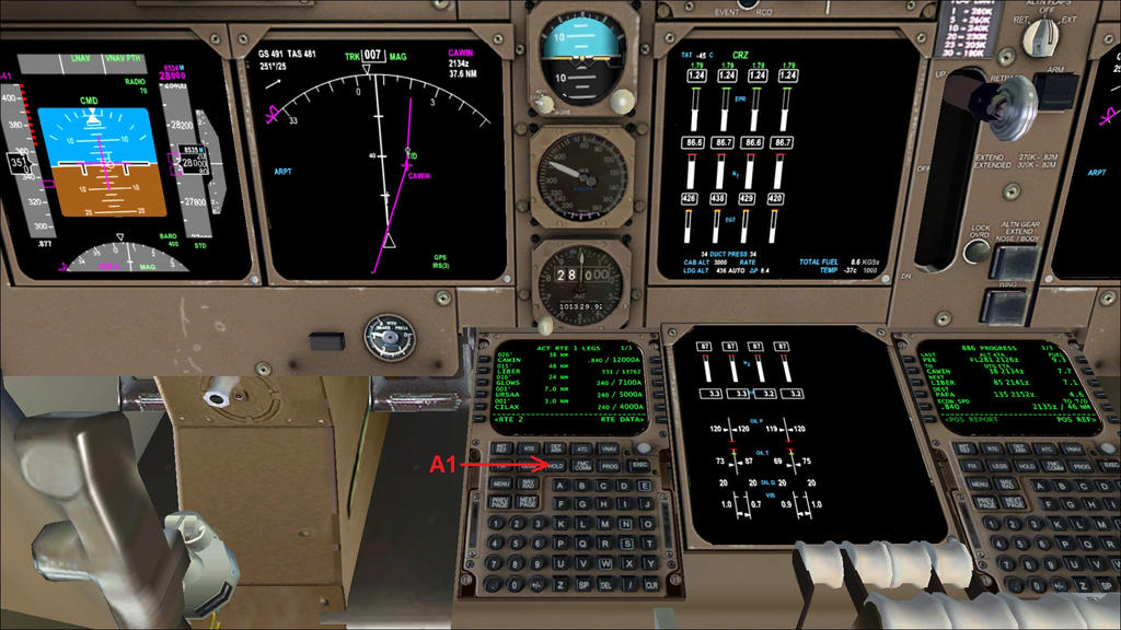 how to fly holding patterns in the pmdg b747 400 by hyppthe on rh deviantart com B747- 200 Accident B747- 300